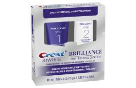 مجموعة Crest 3D White Brilliance لتبييض الأسنان