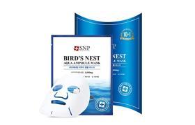 SNP, قناع أمبول المائي اقنعهBirds Nest Aqua Ampoule Mask)، 10