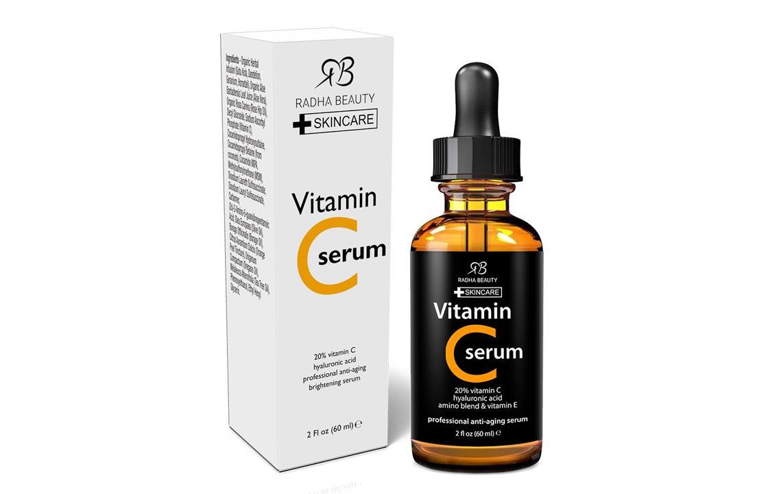 Radha Beauty Vitamin C Serum for Face, 2 fl