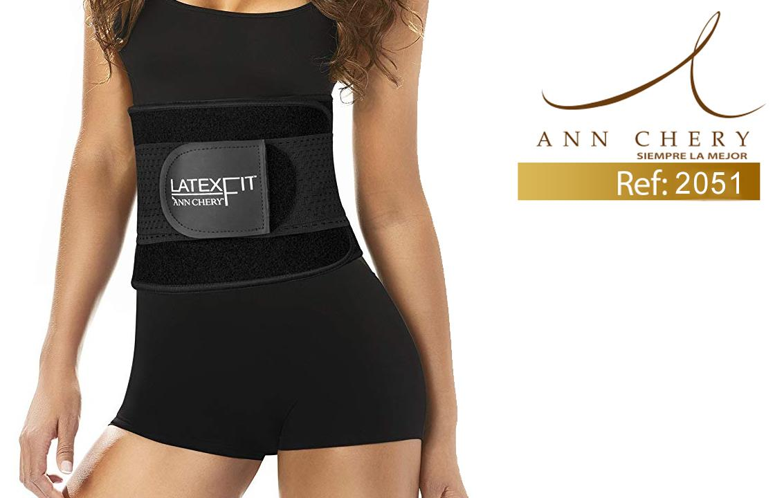 Ann Chery 2051 Latex Fit Waist Trimmer Belt مقاس XL