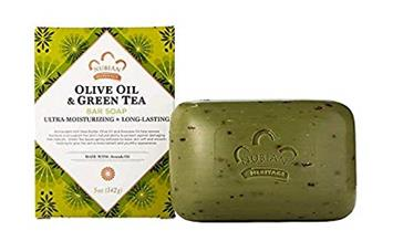 Olive Butter And Green Tea Soap