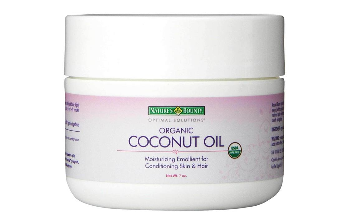 Natures Bounty Optimal Solutions Coconut Oil, 7oz