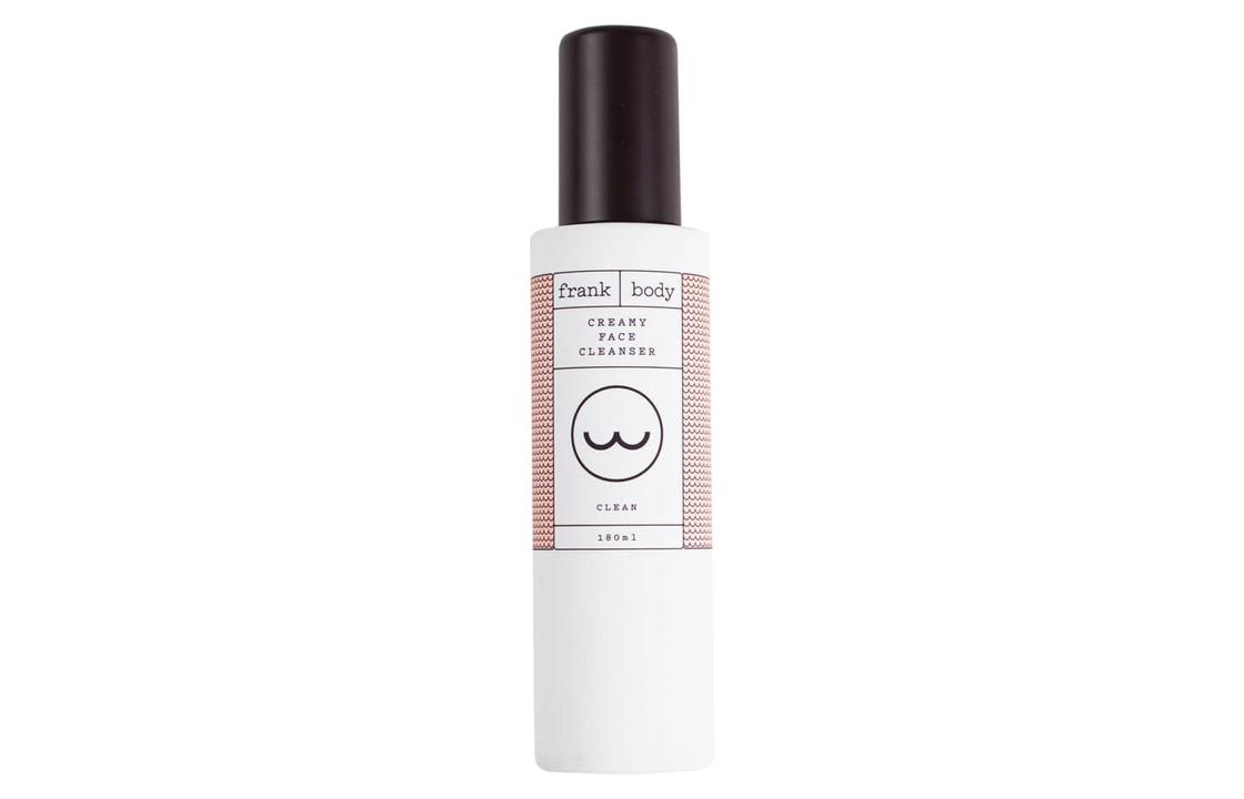 frank body cream face cleanser