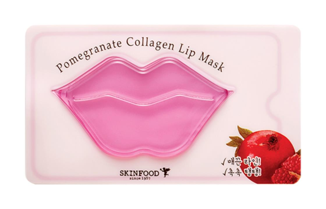 pomegranate collagen lip mask