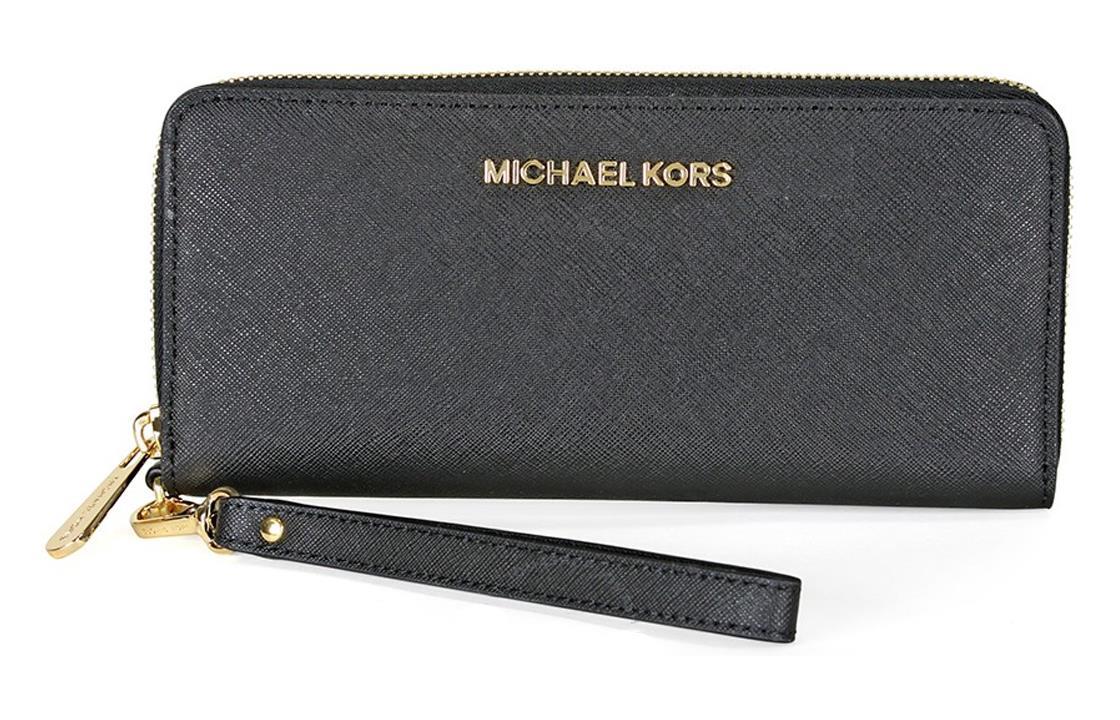 محفظة مايكل كورس الاصليه اللون الاسود