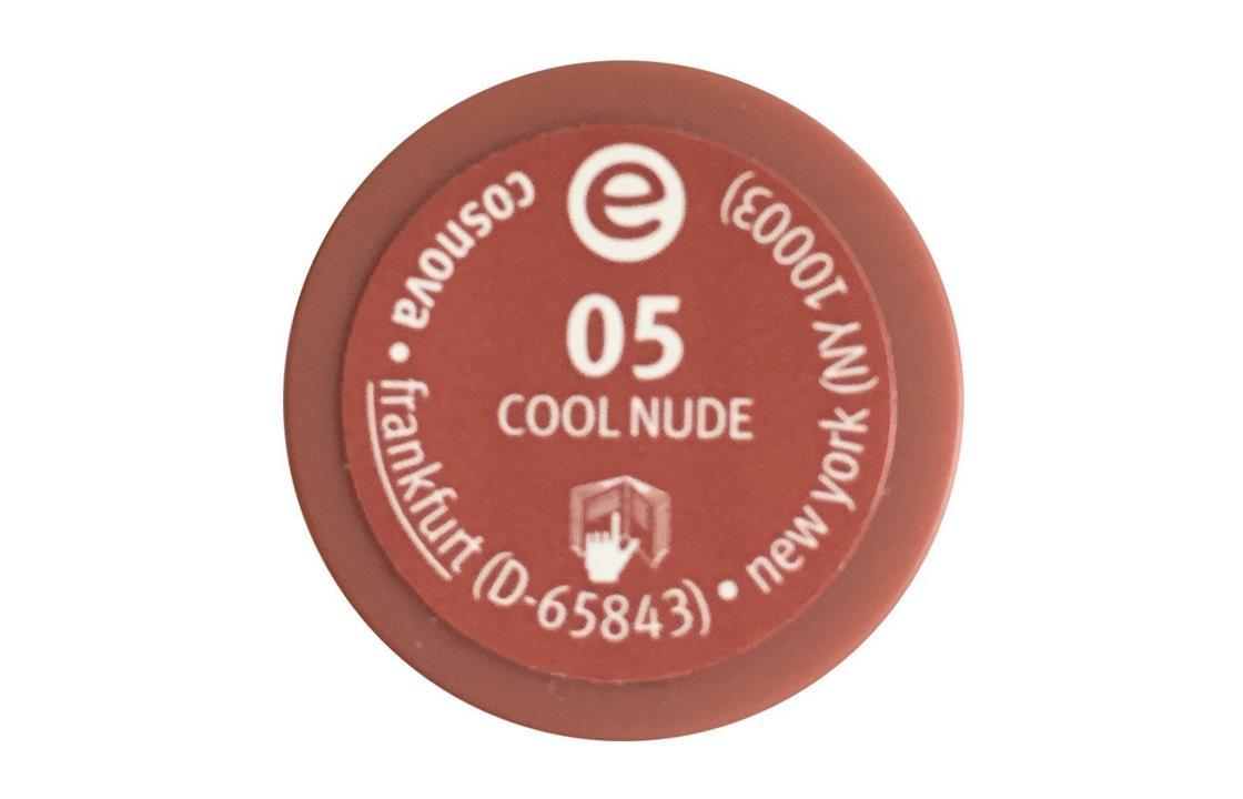 essence Longlasting Lipstick Nude, 05 Cool Nude