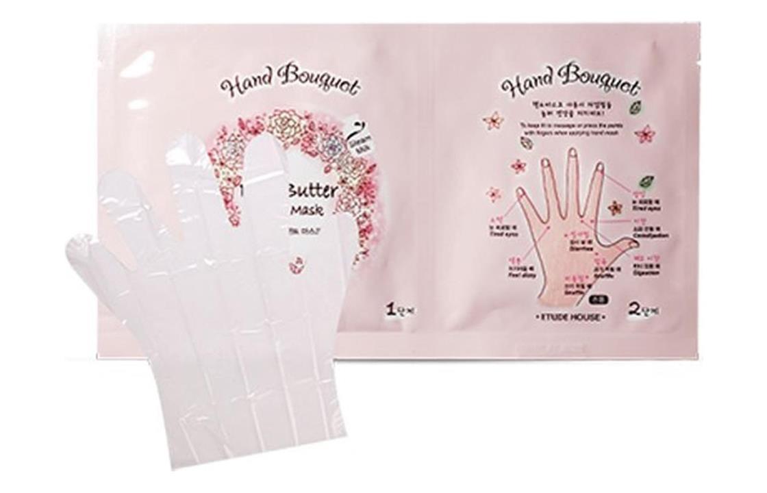 Hand Bouquet Rich Butter Hand قناع