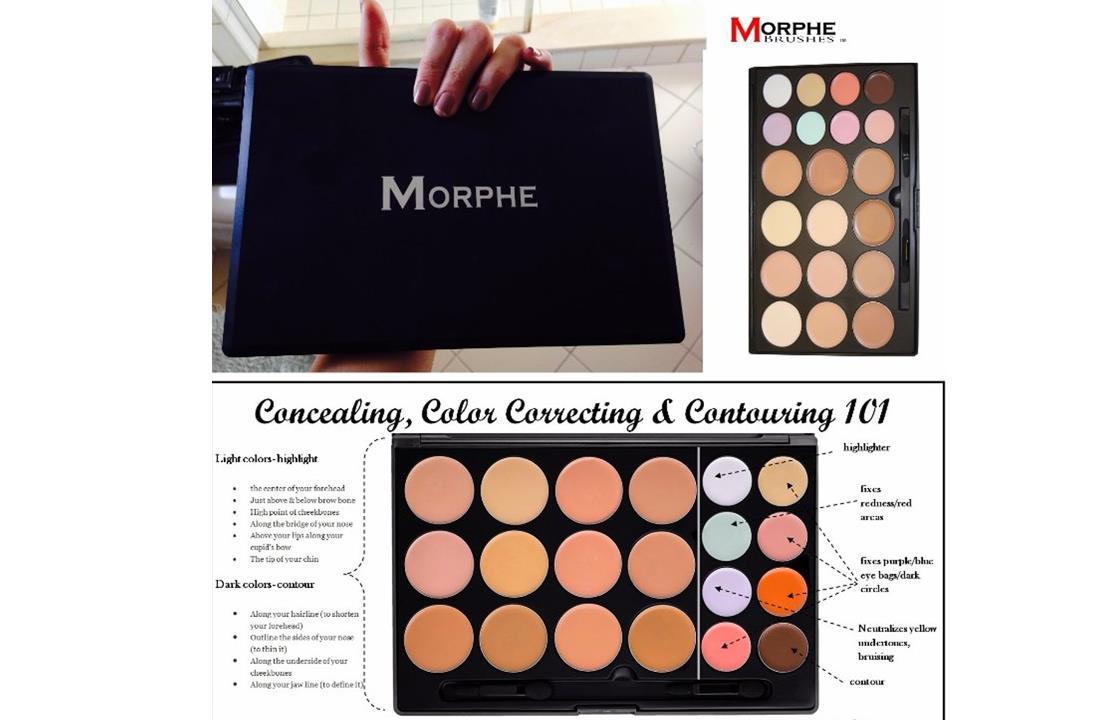 Morphe 20CON  20 Color Contour ConcealerPalette