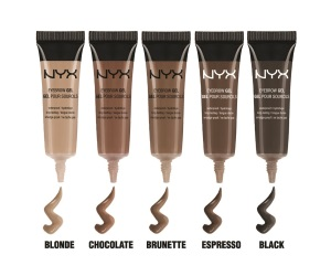 NYX Eyebrow Gel Chocolate