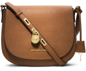 حقيبة مايكل كورس  Brown Large Hamilton Messenger