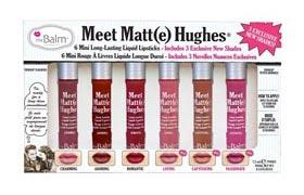 theBalm  Meet Matte Hughes Mini Kit V2