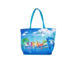 حقيبة تسوّق نسائية لون أزرق