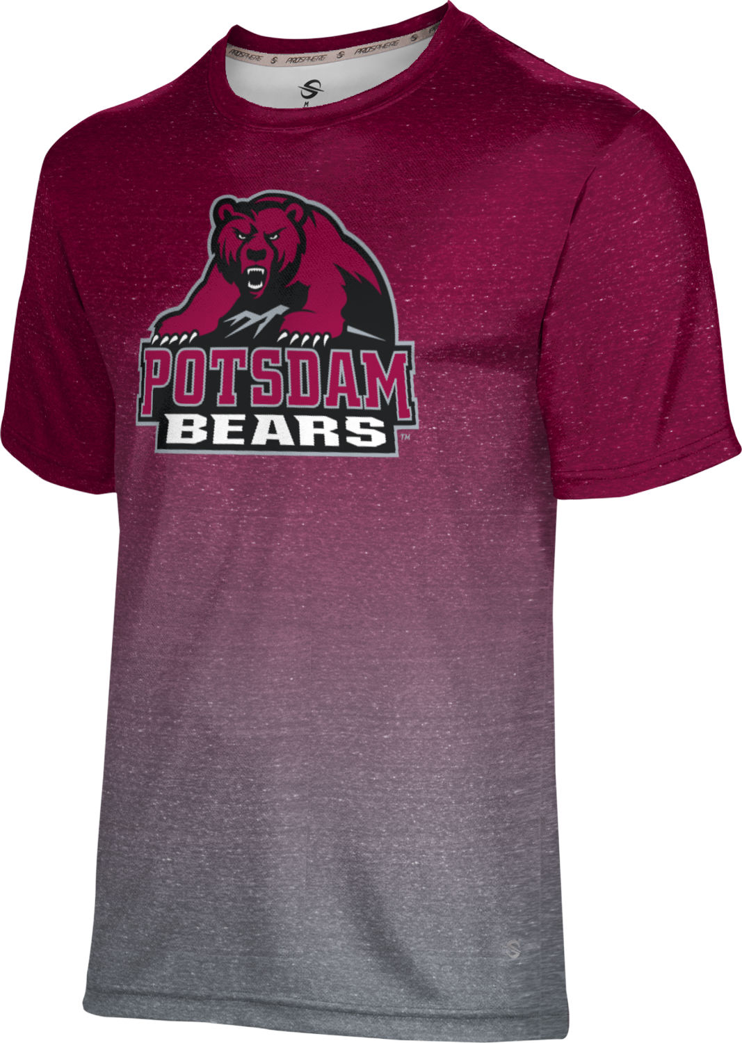 ProSphere Men's State University of New York at Potsdam Ombre Tech Tee (SUNYP)