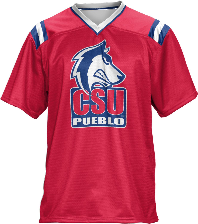 ProSphere Men's colorado State University, Pueblo Goal Line Football Fan Jersey