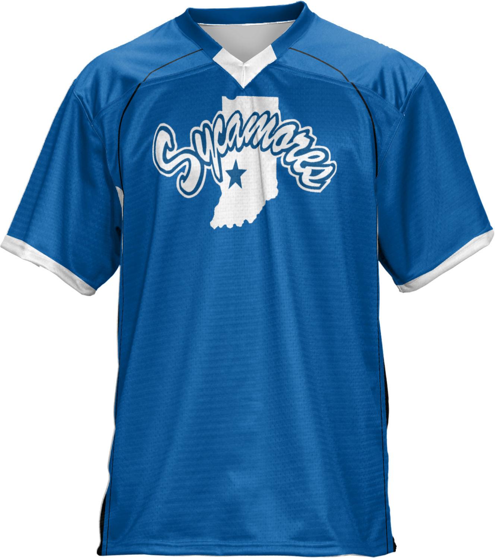 ProSphere Men's Indiana State University No Huddle Football Fan Jersey (ISU)