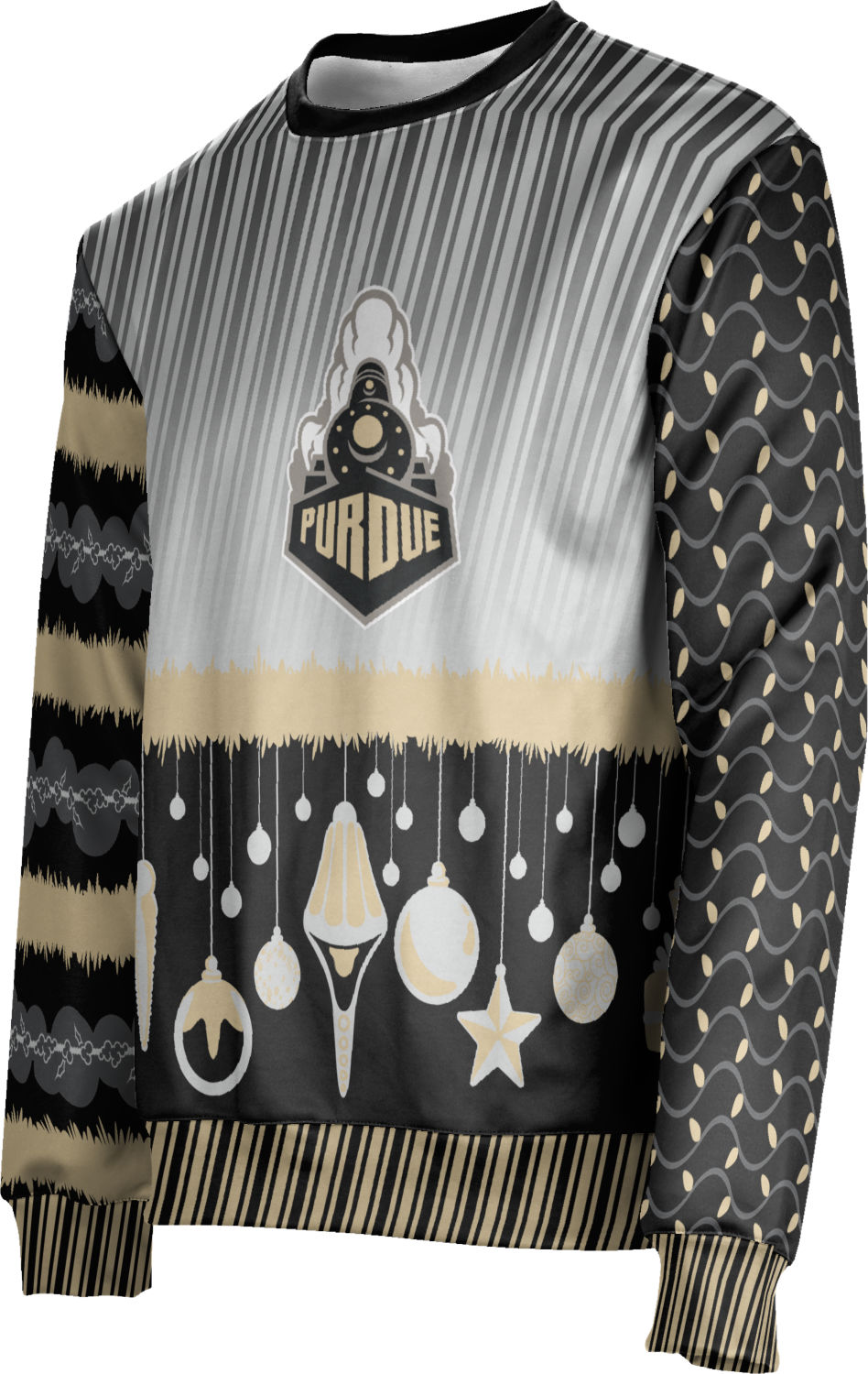 PU ProSphere Men/'s Purdue University Ugly Holiday Decoration Sweater Apparel