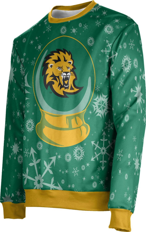 Unisex Southeastern Louisiana University Ugly Holiday Snow Globe Sweater (SLU)