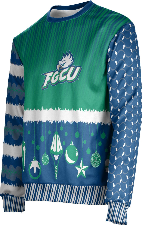 Unisex Florida Gulf Coast University Ugly Holiday Decoration Sweater (Apparel)