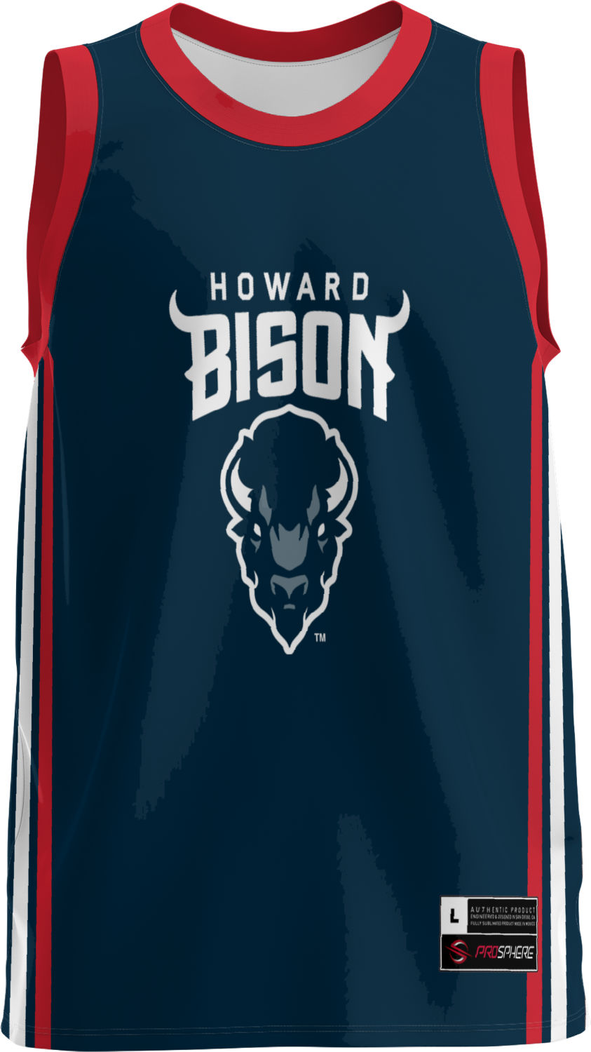 sports shoes 504ac 11f74 Details about ProSphere Men's Howard University Classic Replica Basketball  Jersey (Apparel)