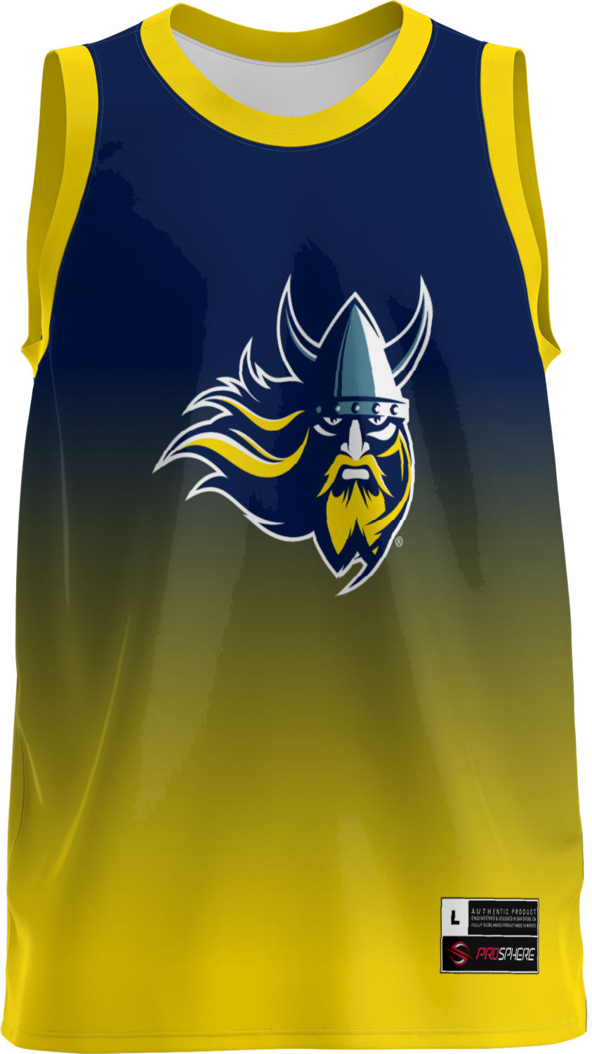 Prosphere Augustana University Men S Replica Basketball Jersey Ombre