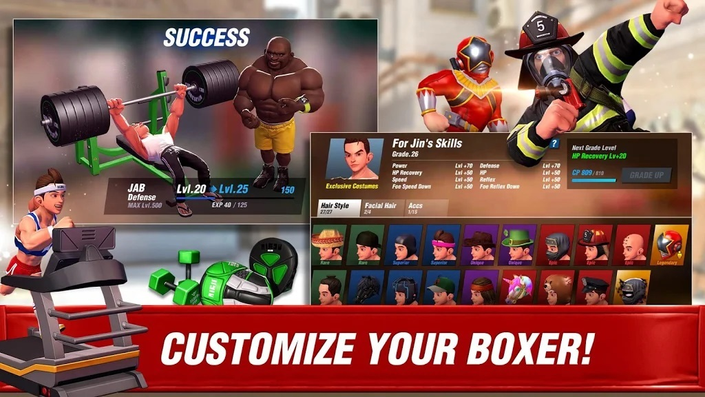 Customize the Players