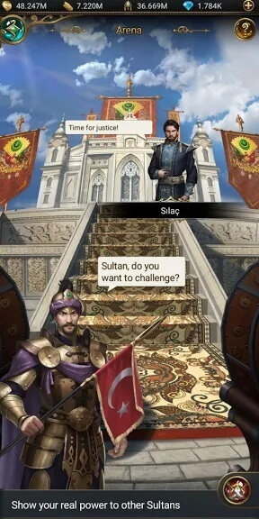 Game of Sultans Mod Apk Friendly Interface