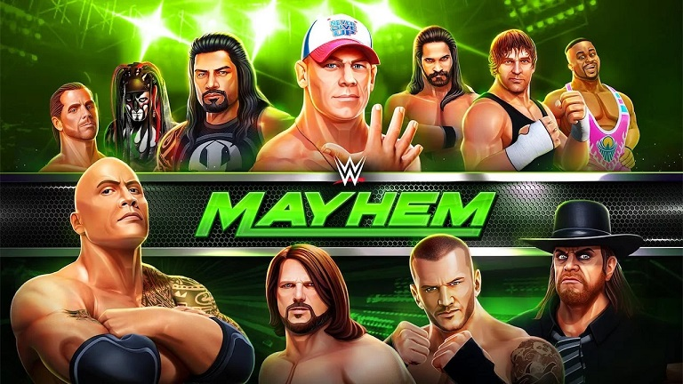 WWE Mayhem Mod Apk Hack Download Unlimited Money, Cash, Gold
