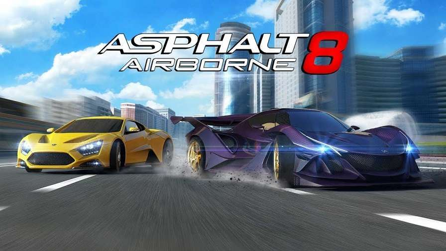 Asphalt 8 Mod Apk Hack Free Download with Money, Tokens, and Credits
