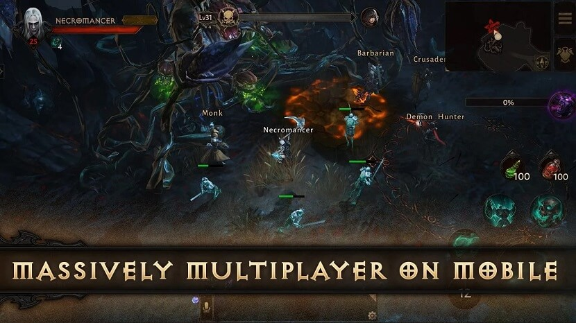 Massively Multiplayer on Mobile