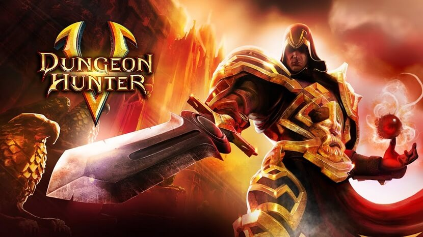 Dungeon Hunter 5 Mod Apk Free Download Unlimited Money and Power