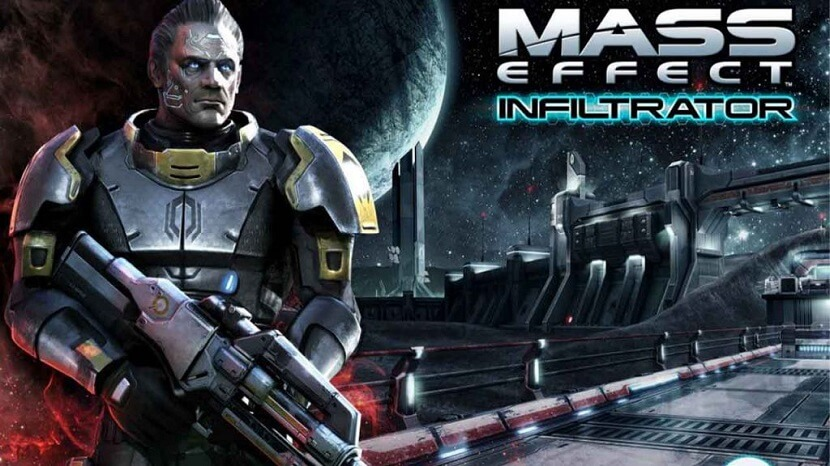Mass Effect Infiltrator. Apk Free Download with Upgrade Weapons, Crush Enemies