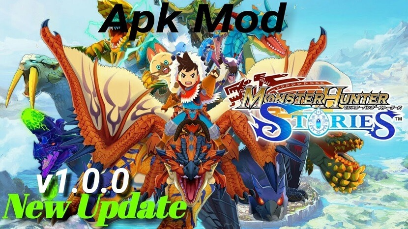 Monster Hunter Stories Apk Free Download with Advanced Weapons, Various Monsters
