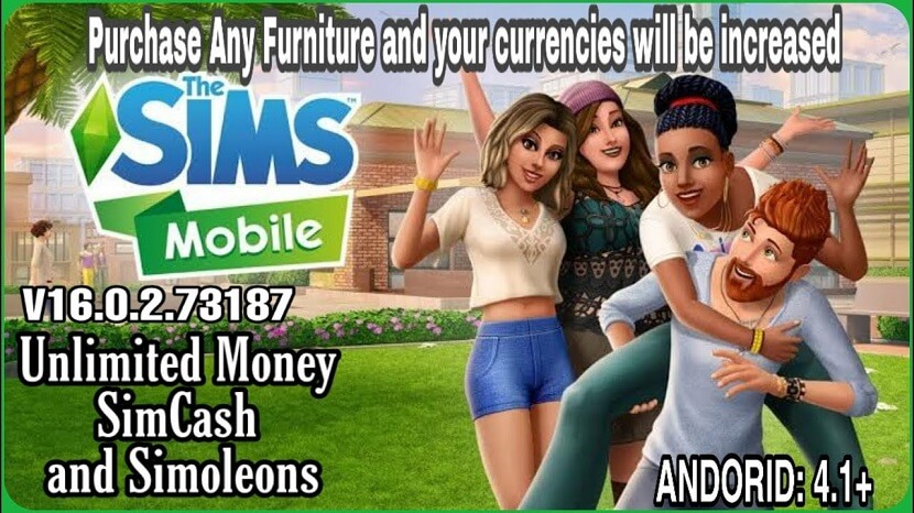 The Sims Mobile Mod Apk Free Download with Unlimited Money, and Simoleons