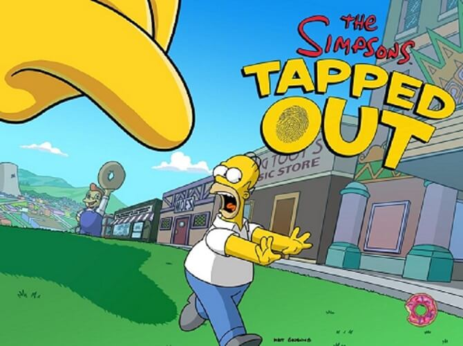 The Simpsons Tapped out Mod Apk Unlimited Donuts and Money Free Download