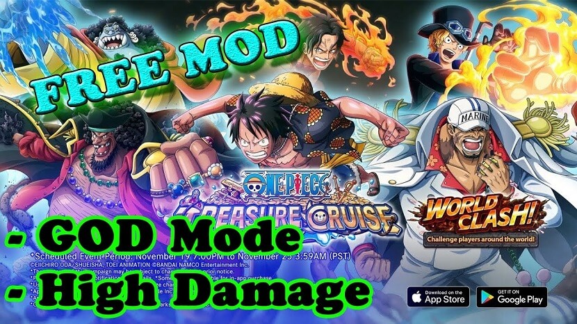 One Piece Treasure Cruise Mod Apk Free Download Infinite Coins, Diamonds, Gems