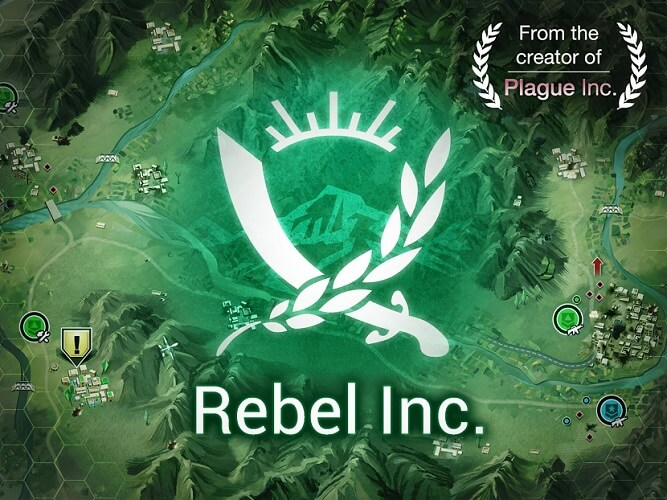 Rebel Inc Mod Apk Free Download with all advisors, maps, and money, Ads-Free