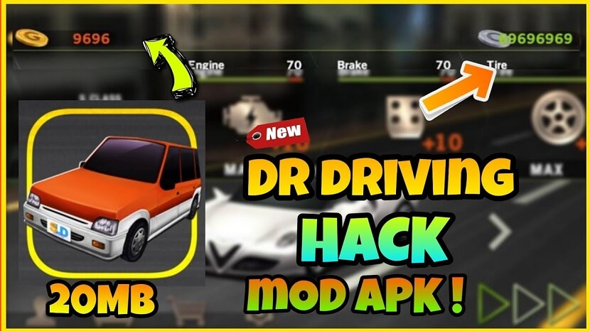 Dr Driving Mod Apk Free Download with Unlimited Money, Ruby, Coins, and Gold, No Root