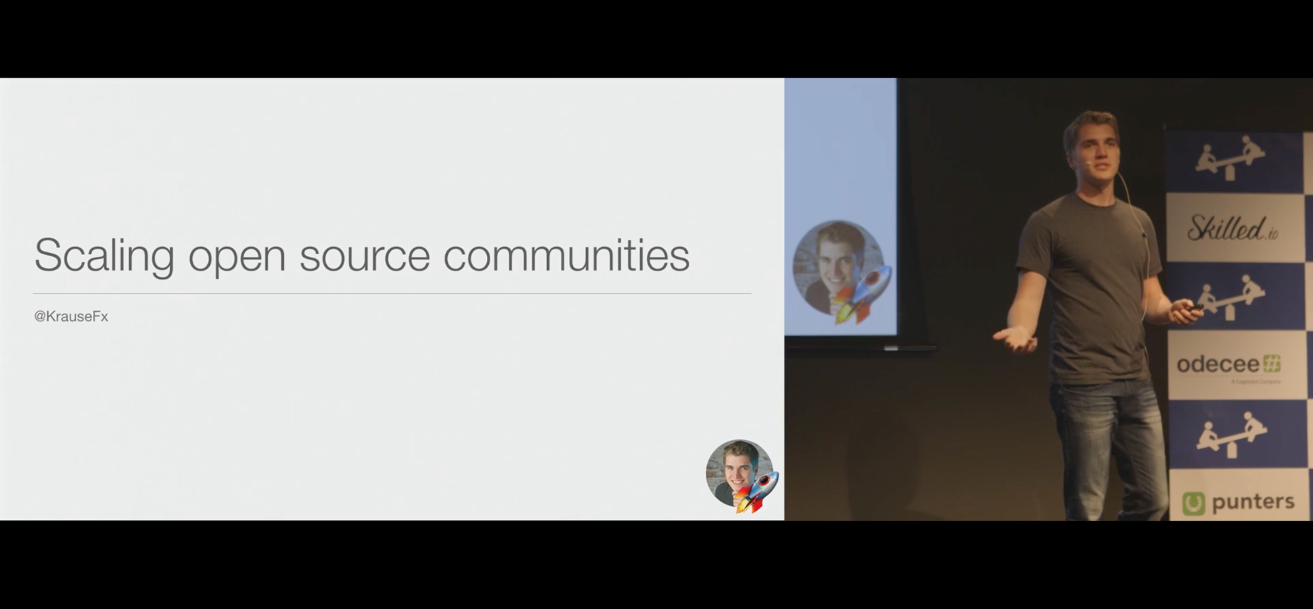 Scaling open source communities | Skilled io, the Swift