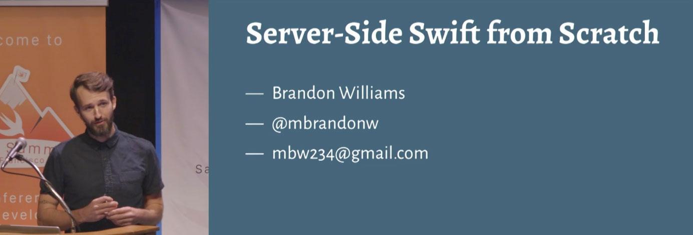 Server-Side Swift from Scratch
