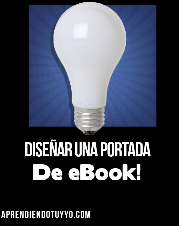 decide diseñar una portada de eBook