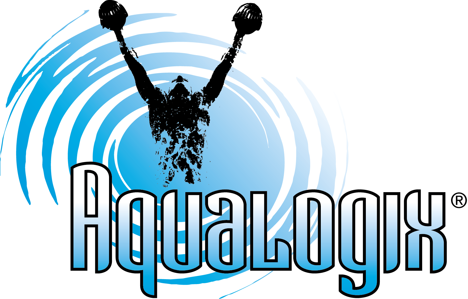 Aqualogix Max Resistance Slow Bells Water Fitness Pool Gym Barbells Exercise Fitness & Jogging Aquafitness-Geräte