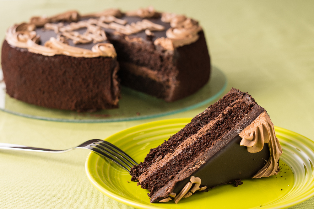 Chocolate Fudge Birthday Cake - 10