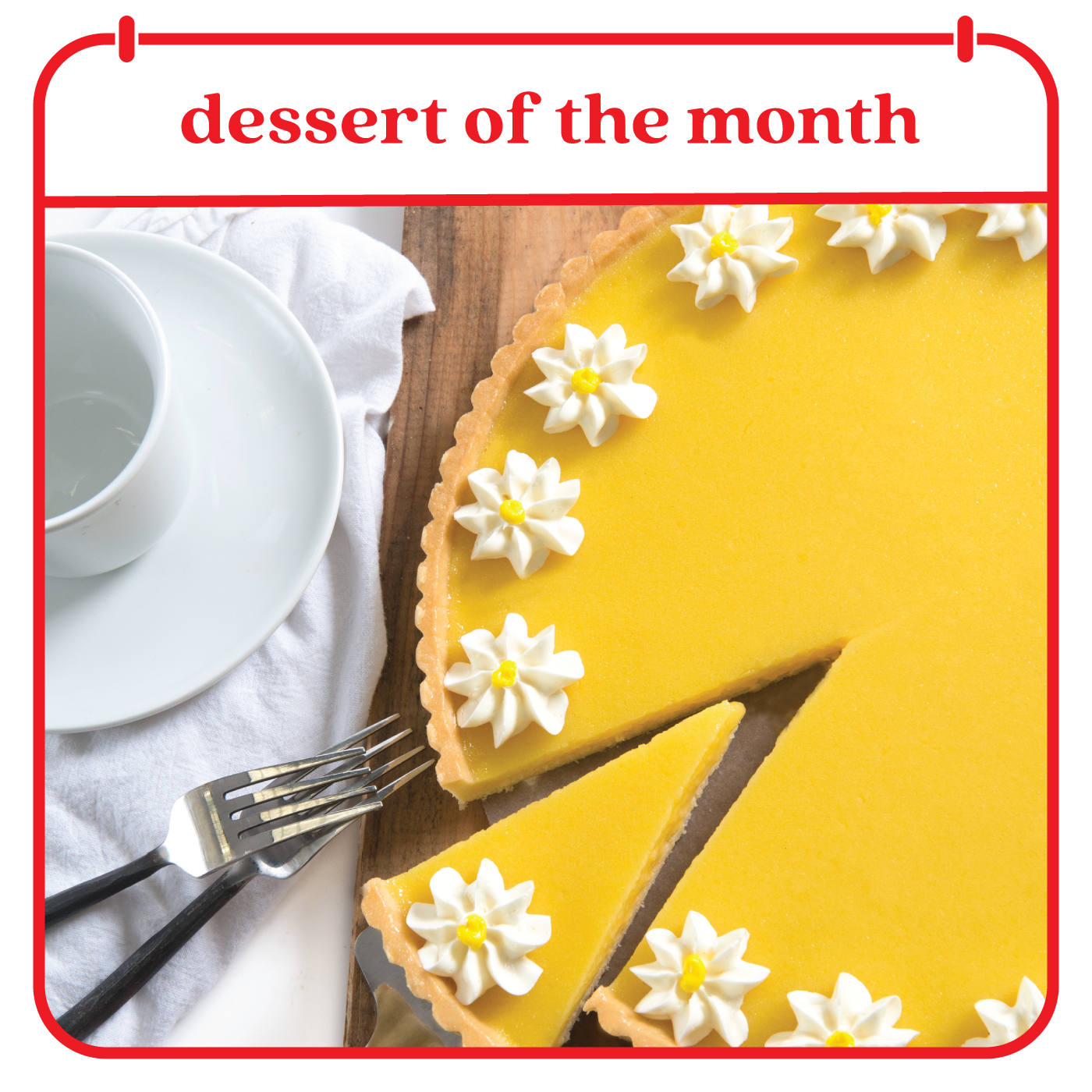 Dessert of the Month Club