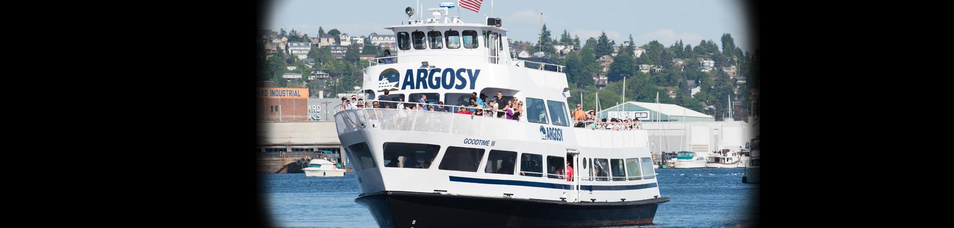 goodtime iii argosy cruises - Argosy Christmas Ships 2014
