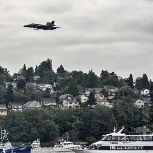 Seafair Blue Angels Viewing Cruises | Argosy Cruises