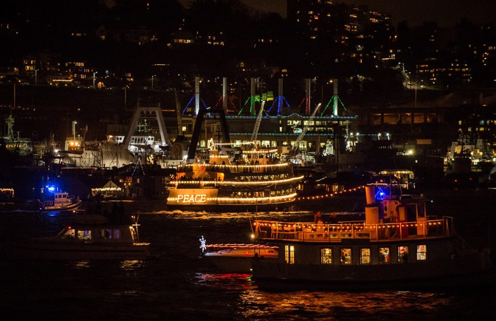 Grand Finale Night in Lake Union, 2015