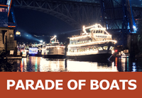 a portion of all christmas ship festival proceeds are donated to the seattle times fund for the needy