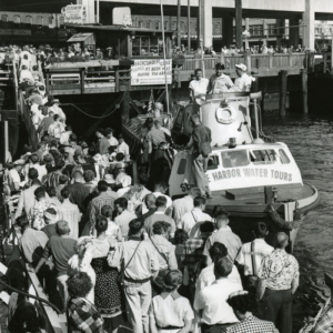 1951 Spring Street Water Taxi Company is renamed Seattle Harbor Tours.