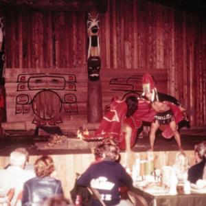 1962: The year of Seattle World's Fair, Seattle Harbor Tours begins regularly scheduled trips to Tillicum Village on Blake Island.