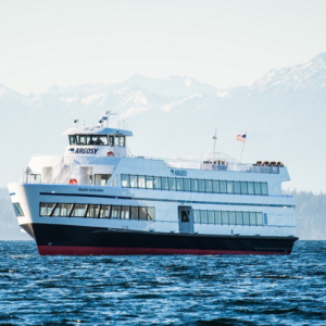 2018: The brand new vessel, Salish Explorer, begins her inaugural season.